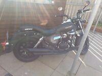 Motorbike - practically brand new