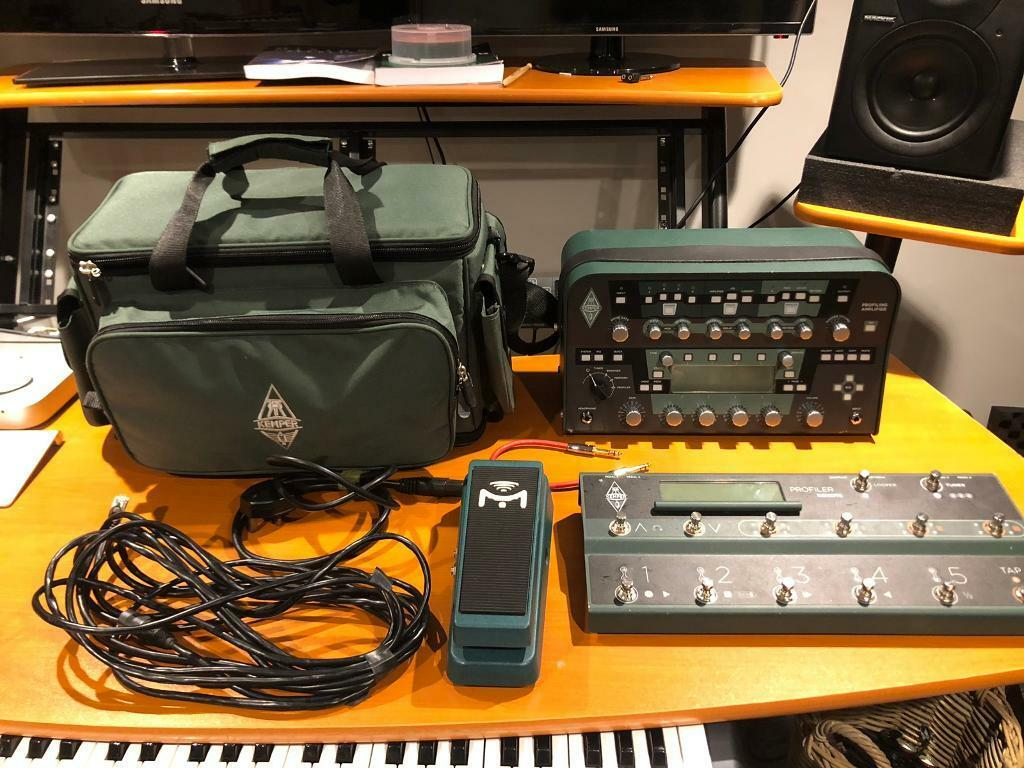 kemper powerhead floor remote mission expression pedal