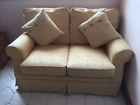 Laura Ashley cream two seater sofa