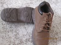 Three pairs of mens shoes. Size 8 wide fit, almost new.