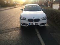 BMW 1 series 3 door sport 64 plate 116i