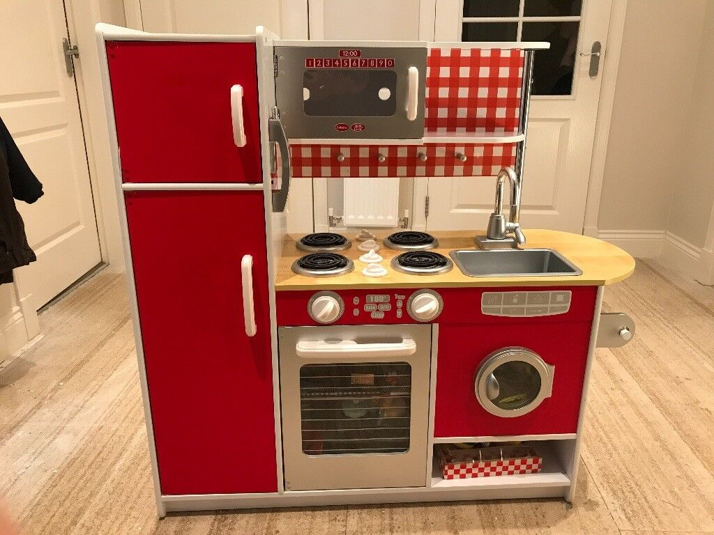Great Little Toy Company Super Chef Red Play Kitchen