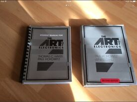 The art of electronics 2 books by Paul Horowitz