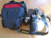 Nikon d70 camera 28-80 lens charger bag connection power pack
