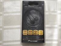 Pioneer SE-CE10-XK stereo earphones Brand New in Pack