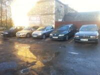 RELIABLE & ROADWORTHY CARS FOR UNDER £500!!!! All With MOT and Ready to Go!!!