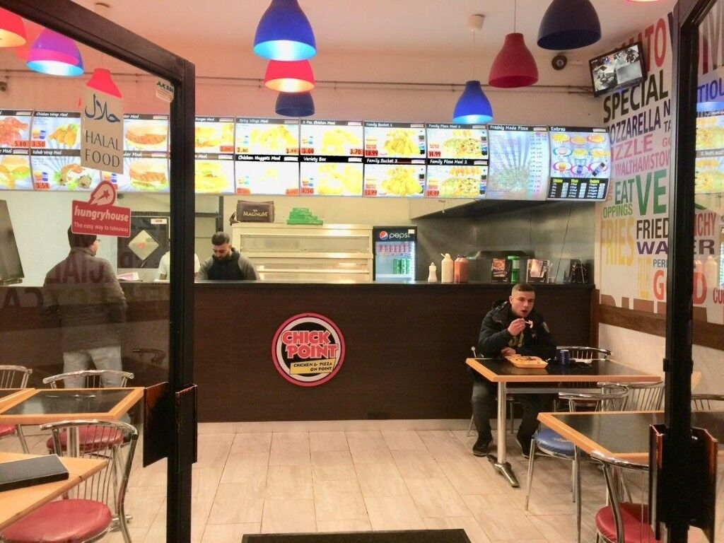 Chicken N Pizza Shop Running Business For Sale In Walthamstow