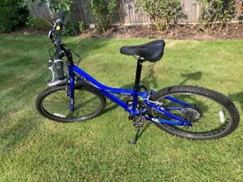 """Boys bike- Giant 24"""" wheel Model MTX225 Blue"""