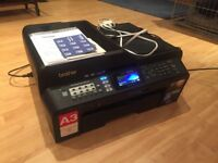 Brother MFC J6510DW A3 Colour Inkjet Wireles Printer/Scanner - High spec, excellent condition