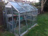 8ft x 6ft Greenhouse for sale
