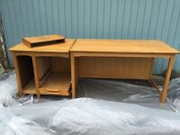 "Office desk in good condition 6ft 10 by 27"" wide"