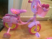 Peppa pig with full kit bike