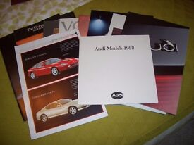 Selection of Car Brochures