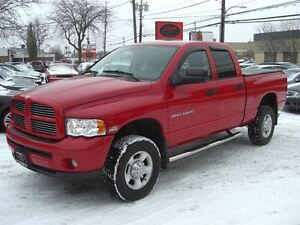 2003 Dodge Ram 2500 SLT 4X4 Quad Cab *LOW KM / SO CLEAN MUST BE