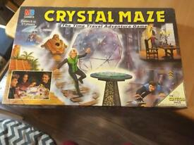 Crystal Maze Board game.