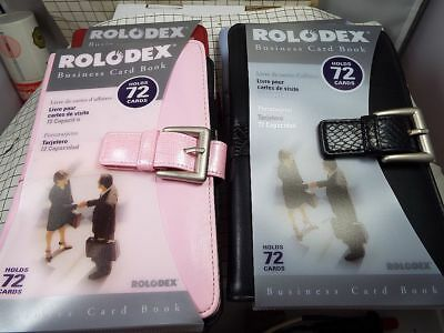 Rolodex Business Card Book - 72 Cards