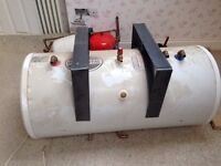 Telford water cylinder and associated consumables