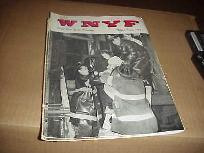 FDNY, WNYF, 3rd issue 1966, High expansion foam,  Pre-planning   ()