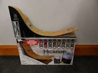 Tech Deck Mega Ramp, rare, boxed with 8 boards, over 2ft long, excellent condition, £25