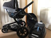 Maxi cosi pebble/quinny travel system