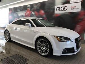 2015 Audi TT 2.0T qtro 6sp S tronic Cpe
