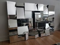 Stunning art deco mirror