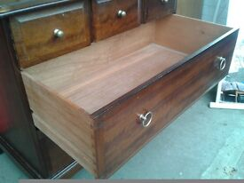Set of 2 stag drawers