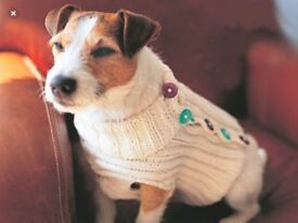 Cosy Dogs Sweaters would suit small dog e.g. Chihuahua