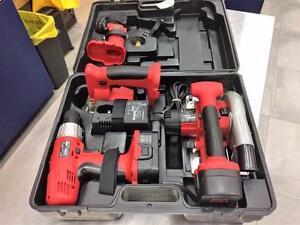 Ensemble 4 outils sans-fil 18V EINHELL  ***Parfaite Condition**  #F021786