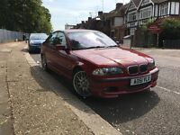 Bmw 330i Manual M-sport imola red 51plate