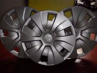 seat wheel trims 15 inch set of 4 off 2015 reg good condition