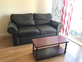 Leather Sofa (can be convert as bed) to sale very good condition