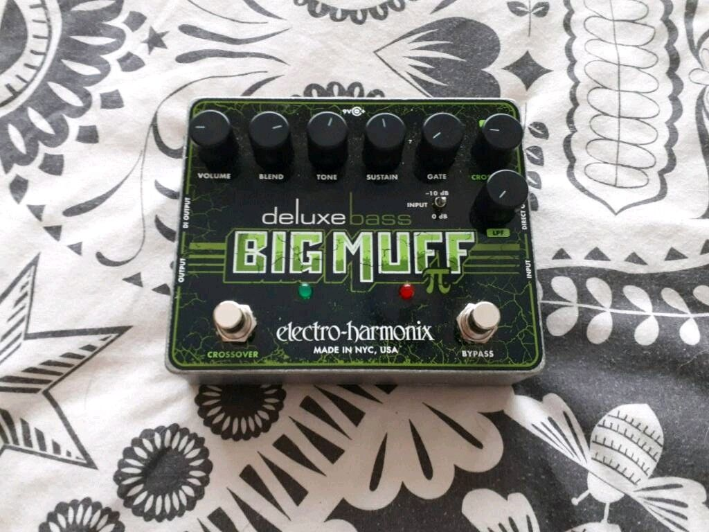 Electro Harmonix Deluxe Bass Big Muff Pi In Stockton On Tees Graphic Equalizer