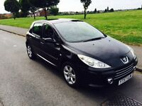Peugeot 307 1.6 HDi S 5dr! HPI Clear, Full Service History, 1 year MOT