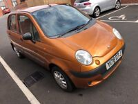 Deawoo matiz, manual five speed, petrol, five door