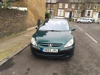 Very lovely Peugeot 307 automatic 2003