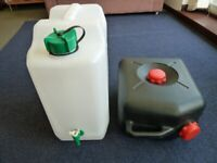 Camping 35l water container Waste water container