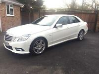 2011-11-Reg Mercedes E220 CDI Blue efficiency AMG sport auto satnav top spec All the usual extras