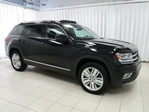 2018 Volkswagen Atlas EXECLINE 4MOTION AWD w/ PANORAMIC SUNROOF,