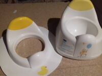 Toddler potty and seat