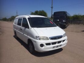 LEFT HAND DRIVE HYUNDAI H200,DRIVES VERY WELL,GOOD LOAD SPACE,ENGINE & MECHANICS,PAPER SORTED.