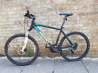 19inch mens giant mountain bike good condition 27.5 wheels set bargain