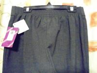John Lewis Girls Trousers with front Zip. Dark Grey. Size 12yrs