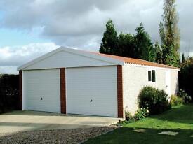 Concrete Sectional Garages - Workshops - Sheds - Greenhouses