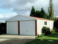 Concrete Sectional Garages - Workshops - Sheds - Greenhouses