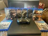 ps4 slim limited edition days of play 1 tb