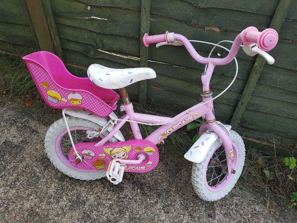 Cupcake 12 inch girls bike