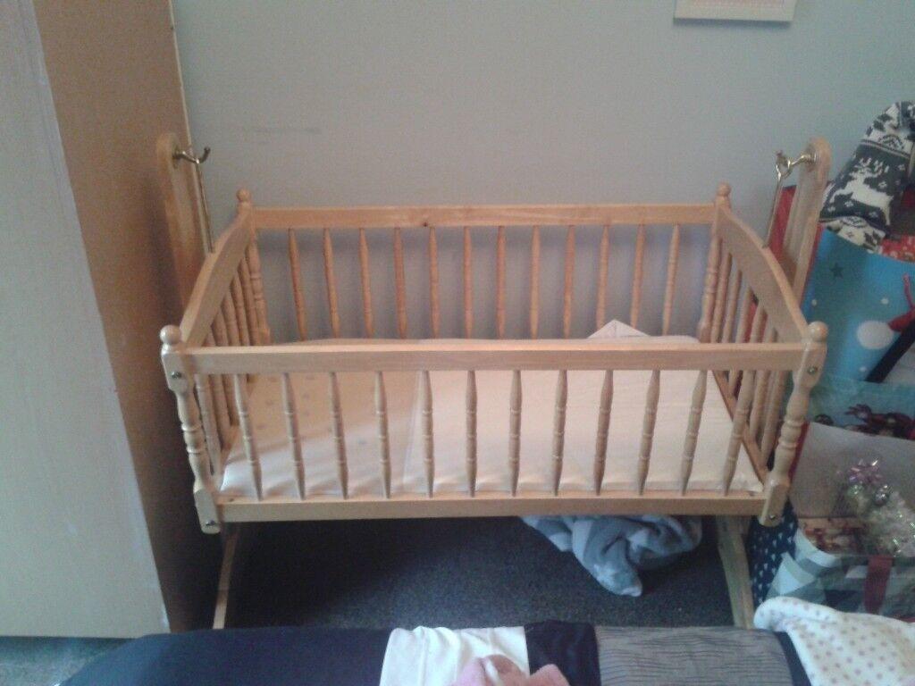 Swinging Crib for sale