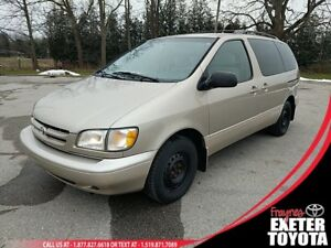 2000 Toyota Sienna AS-IS