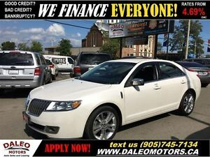2010 Lincoln MKZ AWD NAVIGATION HEATED/COOLED LEATHER